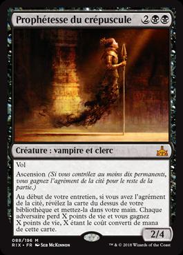 Prophétesse du crépuscule - Les Combattants d'Ixalan - Magic - jeux - Toulon - L'Atanière