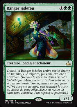 Ranger jadefeu - Les Combattants d'Ixalan - Magic - jeux - Toulon - L'Atanière
