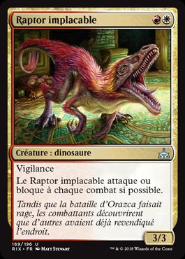 Raptor implacable - Les Combattants d'Ixalan - Magic - jeux - Toulon - L'Atanière