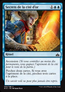 Secrets de la cité d'or - Les Combattants d'Ixalan - Magic - jeux - Toulon - L'Atanière
