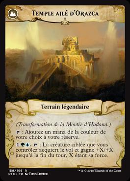 Temple ailé d'Orazca- Les Combattants d'Ixalan - Magic - jeux - Toulon - L'Atanière