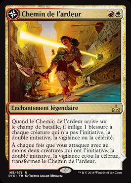 Chemin de l'ardeur - Les Combattants d'Ixalan - Magic - jeux - Toulon - L'Atanière