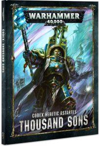 Codex Thousand Sons 2018 jeux Toulon L'Atanière