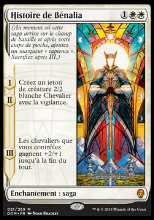 Histoire de Bénalia - Dominaria - Magic - jeux -Toulon - L'Atanière