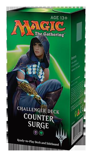 Challenger Deck noir-vert boa - Counter Surge - Magic - jeux - Toulon - L'Atanière
