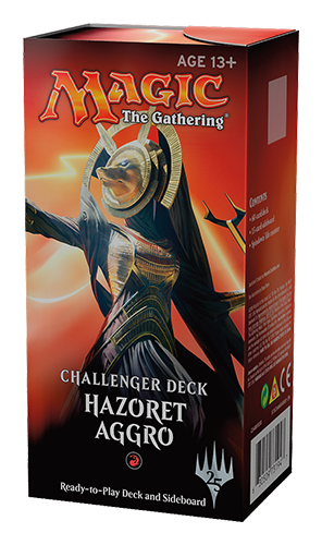 Challenger Deck rouge - Hazoret aggro - Magic - jeux - Toulon - L'Atanière