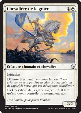 Chevalière de la grâce - Magic - jeux - L'Atanière