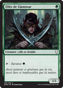 Elfes de Llanowar - Dominaria - Magic - jeux - Toulon - L'Atanière