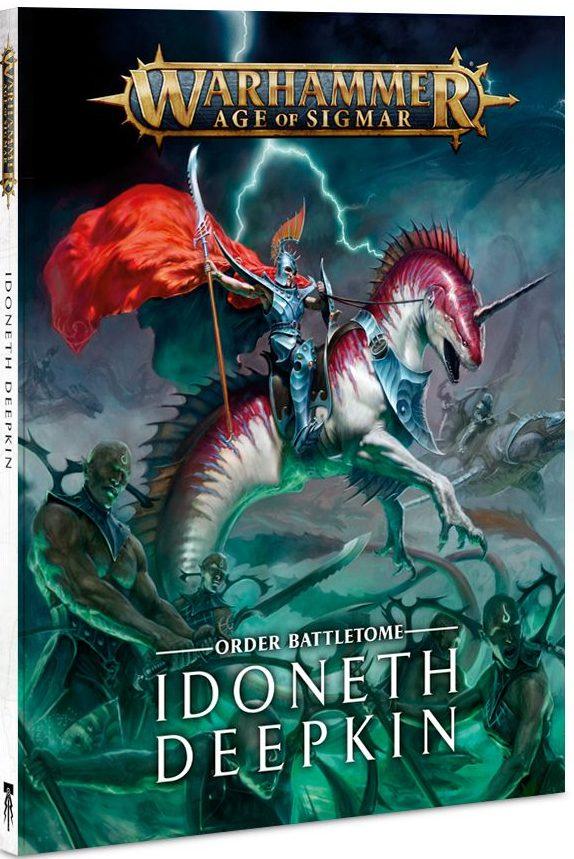 Idoneth Deepkin Battletome jeux Toulon L'Ataniere