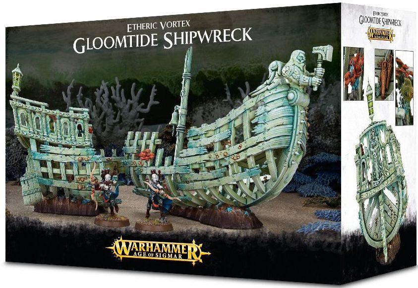 Idoneth Deepkin Gloomtide Shipwreck jeux Toulon L'Ataniere