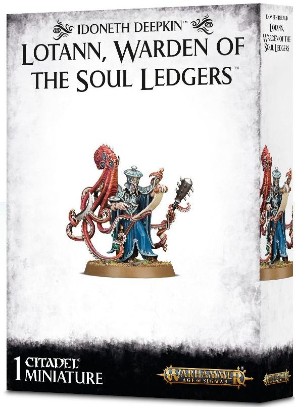 Idoneth Deepkin Lotann warden of the soul ledgers jeux Toulon L'Ataniere