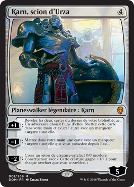 Karn-scion-d-Urza-Dominaria - Magic - jeux - Toulon - L'Atanière