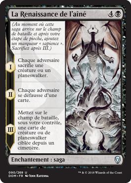 La renaissance de l'aîné - Dominaria - Magic - jeux - Toulon - L'Atanière