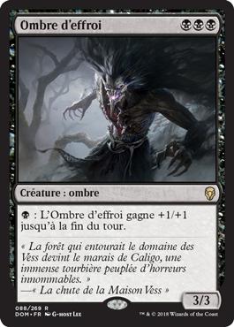 Ombre d'effroi - Dominaria - Magic - jeux - Toulon - L'Atanière