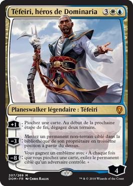 Tefeiri, héros de Dominaria - Magic - jeux - Toulon - L'Atanière