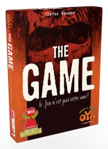 The Game - boite - jeux - Toulon - L'Atanière