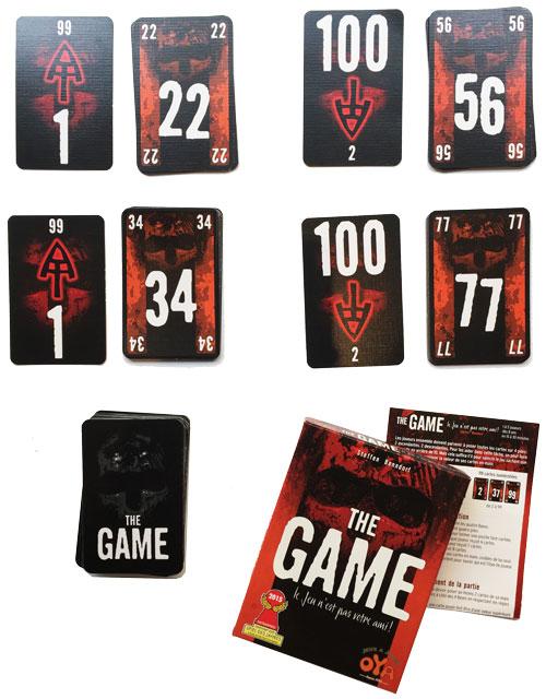 The Game - contenu - jeux - Toulon - L'Atanière