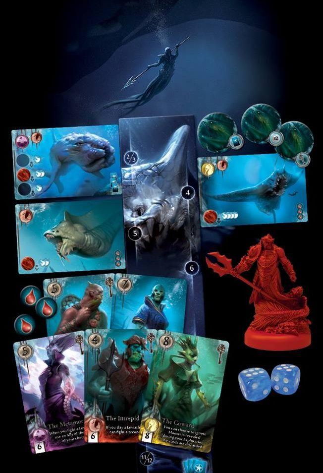 abyss leviathan cartes jeux Toulon L'Ataniere