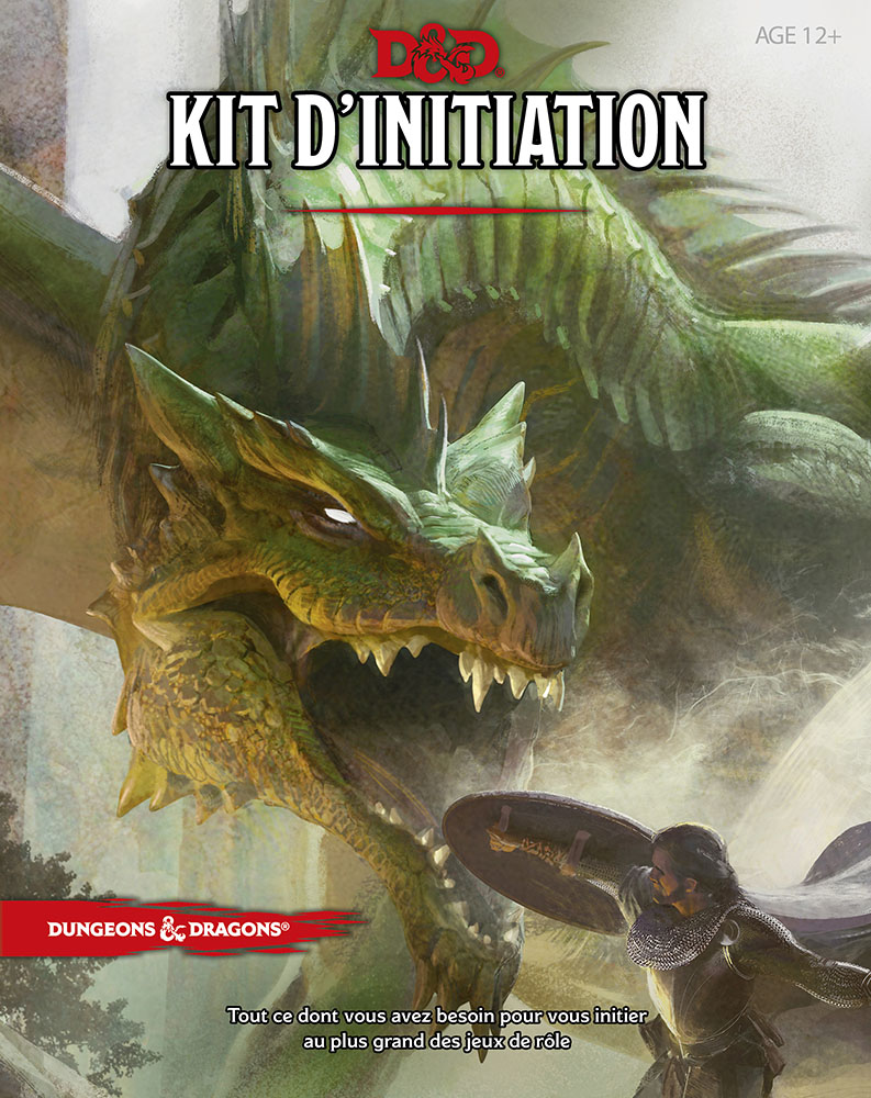 kit d'initiation Donjon 5 - flat - jdr - jeux - Toulon - L'Atanière