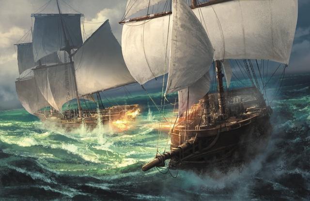 7e Mer - combat naval - jdr - jeux - Toulon - L'Atanière