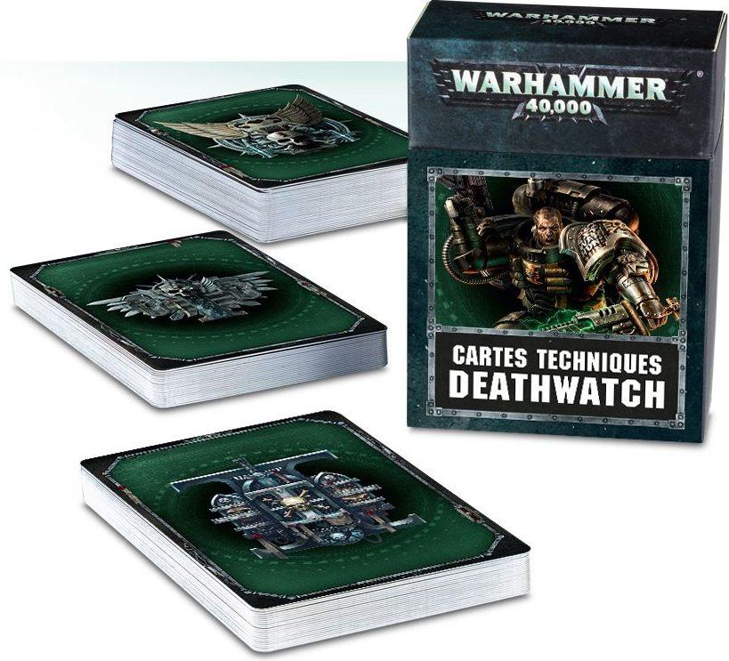 Deathwatch 2018 Datacards jeux Toulon L'Ataniere