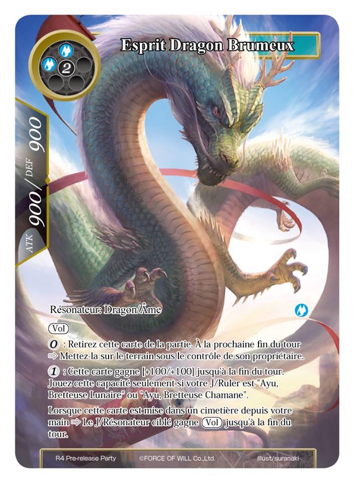 Esprit Dragon Brumeux - R4 Force of Will - jeux - Toulon - L'Atanière