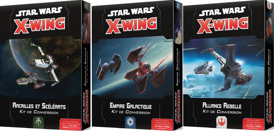 Kits de conversion X-Wing 2e édition - Star Wars - jeux - Toulon - L'Atanière