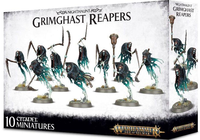 AOS Stormcast grimghast reapers jeux Toulon L'Ataniere