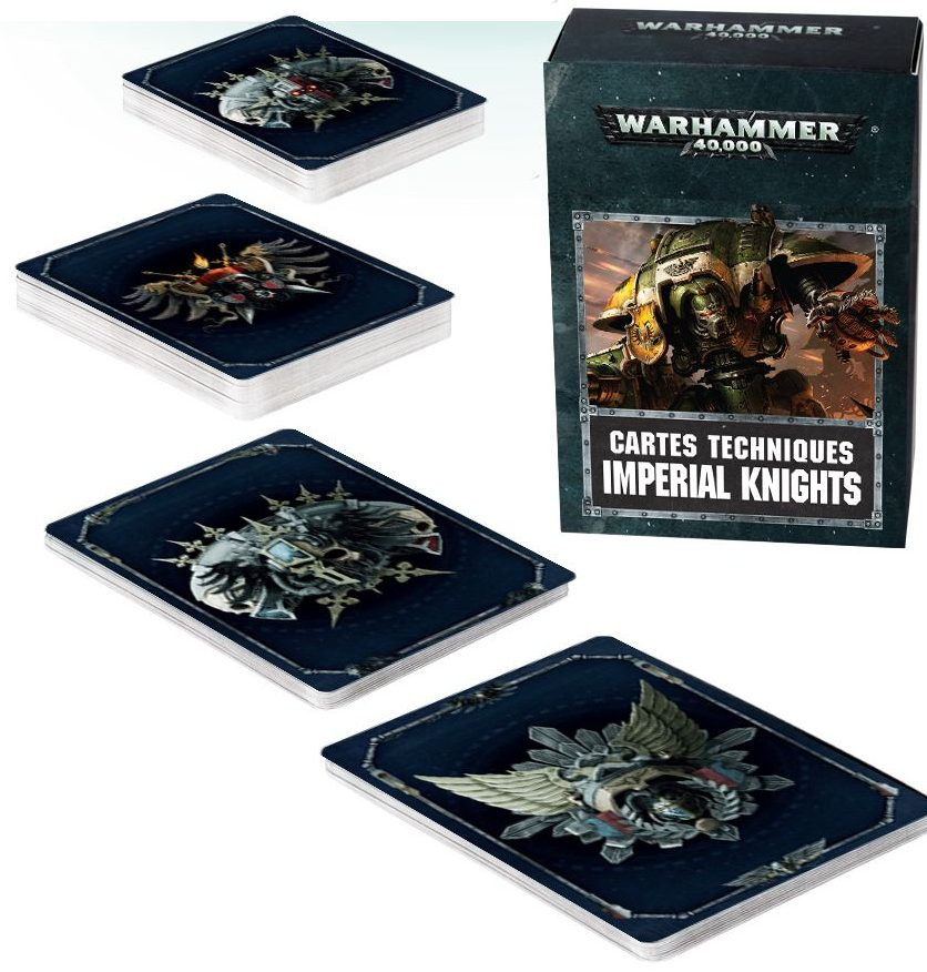 Imperial Knights 2018 Datacards jeux Toulon L'Ataniere