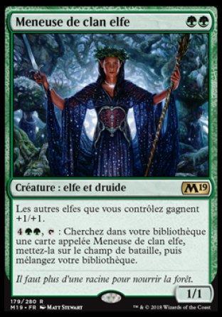 Meneuse de clan elfe - Magic 2019 - jeux Toulon - L'Atanière