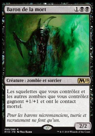Baron de la mort - Magic 2019 - jeux Toulon - L'Atanière