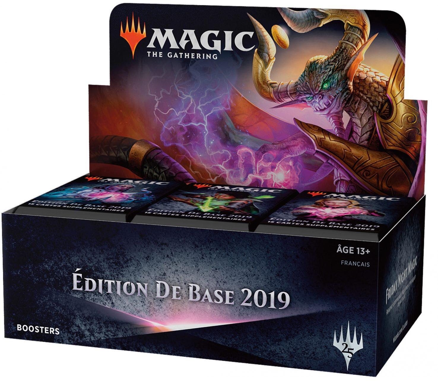 Magic 2019 - display 36 boosters M19 - jeux Toulon - L'Atanière