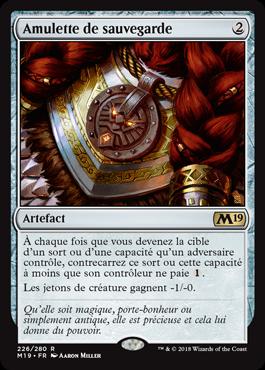 Amulette de sauvegarde - Magic 2019 - jeux Toulon - L'Atanière