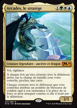 Arcades, le stratège - Magic 2019 - jeux Toulon - L'Atanière