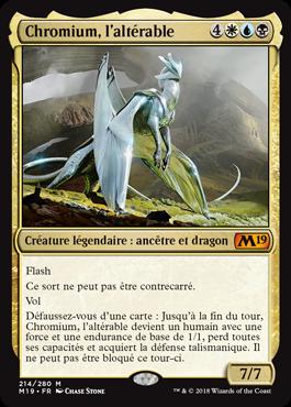 Chromium, l'altérable - Magic 2019 - jeux Toulon - L'Atanière