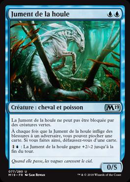Jument de la houle - Magic 2019 - jeux Toulon - L'Atanière