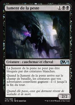 Jument de la peste - Magic 2019 - jeux Toulon - L'Atanière