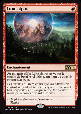 Lune alpine - Magic 2019 - jeux - Toulon - L'Atanière
