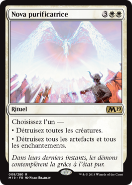 Nova purificatrice - Magic 2019 - jeux Toulon - L'Atanière