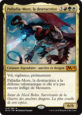 Palladia, la destructrice - Magic 2019 - jeux Toulon - L'Atanière