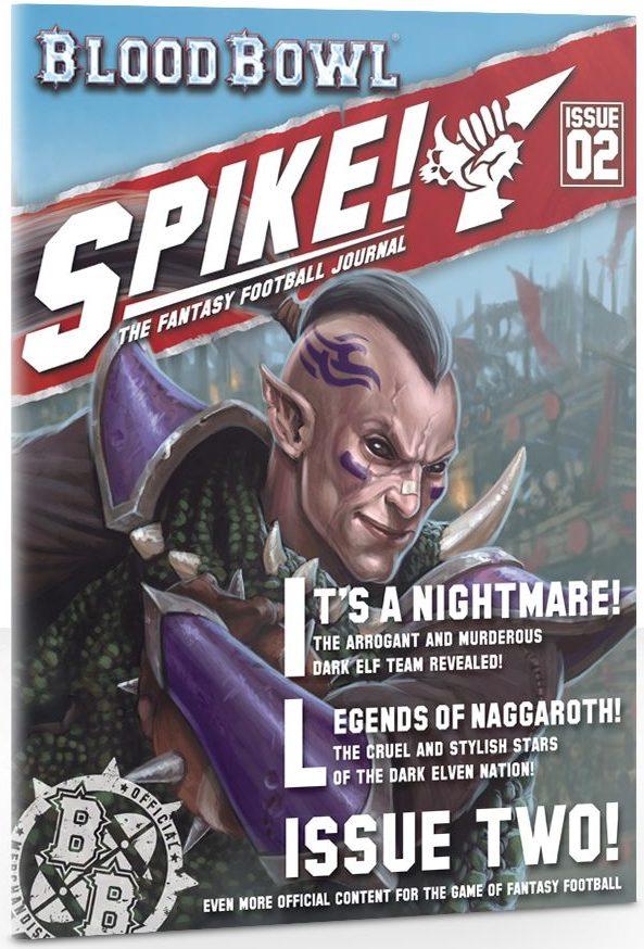 Spike numéro 2 jeux Toulon L Atanière Naggaroth Nightmares