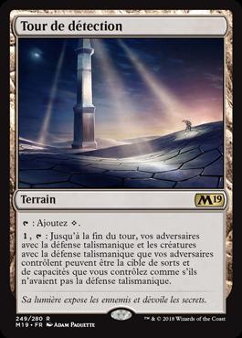 Tour de détection - Magic 2019 - jeux Toulon - L'Atanière
