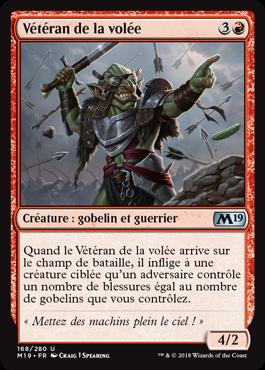 Vétéran de la volée - Magic 2019 - jeux Toulon - L'Atanière