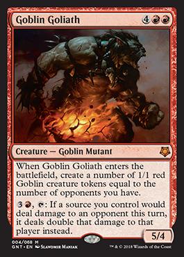 Goblin Goliath - Game Night - Magic - jeux - Toulon - L'Atanière