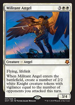 Militant Angel-Game-Night - Magic - jeux - Toulon - L'Atanière