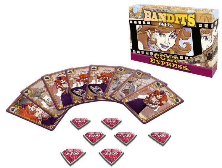 colt express bandits belle jeux Toulon L'Ataniere