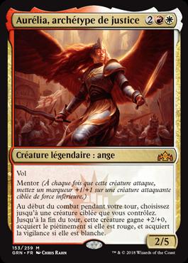Aurélia, archétype de justice - GRN - Magic - jeux - Toulon - L'Atanière
