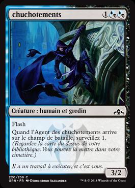 Chuchotements - GRN - Magic - jeux - Toulon - L'Atanière