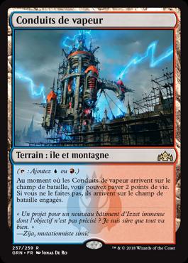 Conduits de vapeur - GRN - Magic - jeux - Toulon - L'Atanière