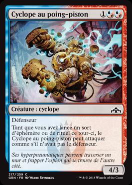 Cyclope au poing-piston - GRN - Magic - jeux - Toulon - L'Atanière